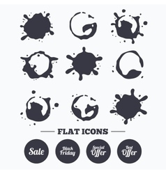 Sale icons Best special offer symbols vector image vector image