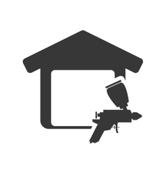 Tool house repair design vector
