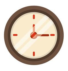 clock time school icon vector image