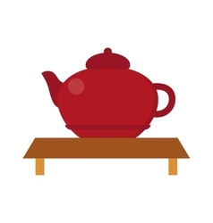 Chinese tea symbols vector
