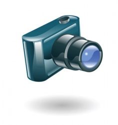 camera illustration vector image vector image