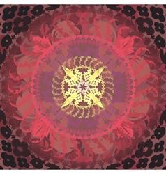 floral mandalas vector image vector image