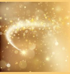 glittering bokeh star dust template eps 10 vector image vector image