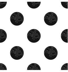 Mercury icon in black style isolated on white vector