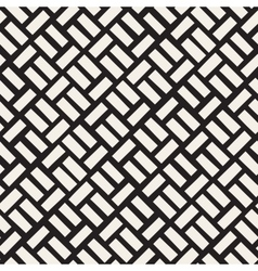 Seamless Black And White Diagonal vector image vector image