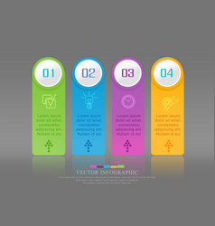 Steps of development teamwork vector