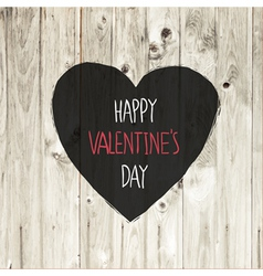 valentines day lighten wooden texture vector image vector image