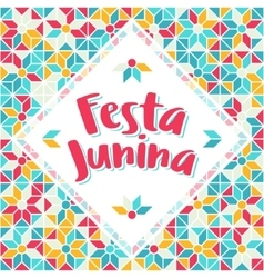 Festa junina - brazil midsummer june fest vector