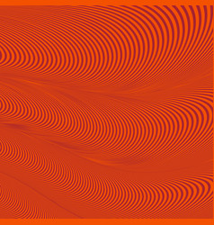 abstract wavy geometric red pattern vector image vector image
