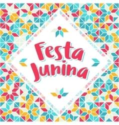 Festa junina - brazil midsummer june fest vector