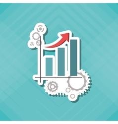 Infographic technical service icon design vector