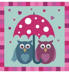 love owls vector image vector image
