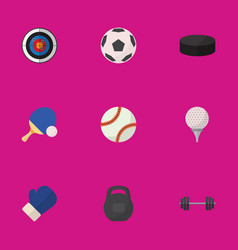 Set of 9 editable lifestyle flat icons includes vector