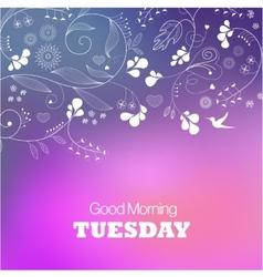 Tuesday vector