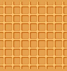 Waffle seamless pattern vector