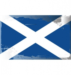 Scotland national flag vector