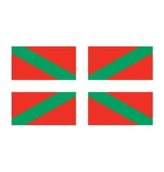 Basque Country flag vector image