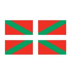 Basque country flag vector
