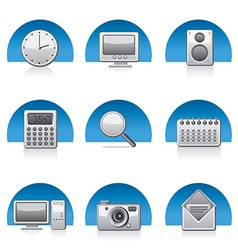 Applications icons vector