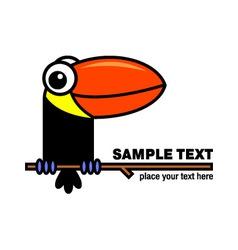 Toucan icon vector image