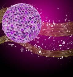 disco tunes vector image