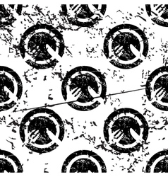 Dinner pattern grunge monochrome vector