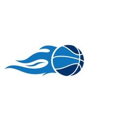 Basketball-Fire-380x400 vector image