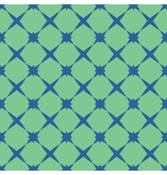 Star blue pastel seamless pattern vector image