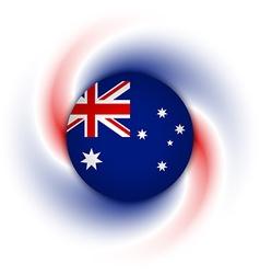Australian background vector
