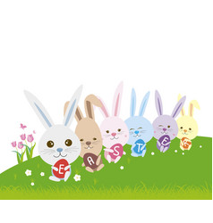 Easter concept vector