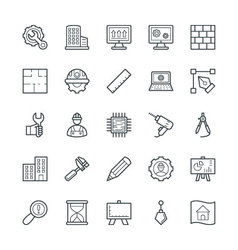 Engineering cool icons 1 vector