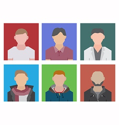 Geometric people vector