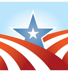 Abstract american design vector