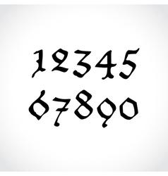 Ghotic numbers vector