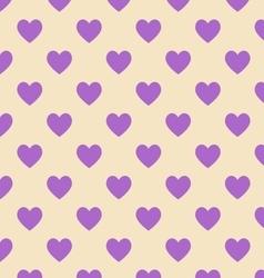 Seamless polka dot yellow pattern vector