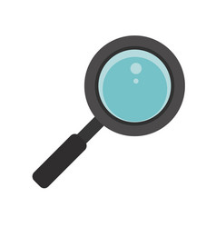 Search loupe school icon vector