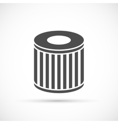 Car oil filter icon vector image