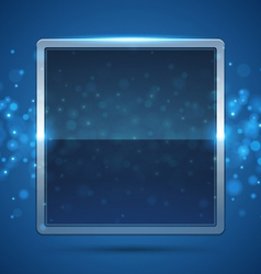 Blue frame vector
