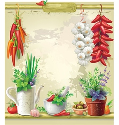 Country still life vector