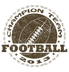 Football label vector