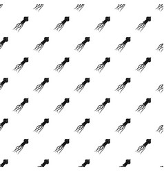 Squid pattern vector