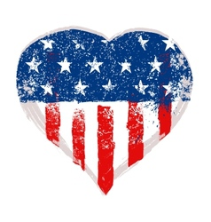I love usa vector