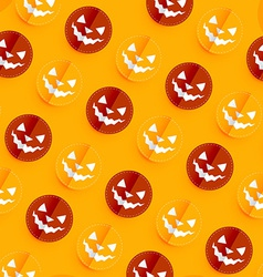 Halloween pattern design vector