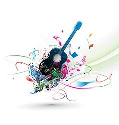 music theme vector image
