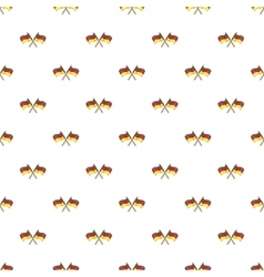 Flag of germany pattern cartoon style vector