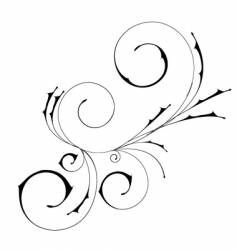 ornamental illustration vector image vector image