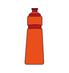 Water bottle design vector