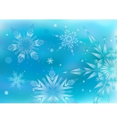 Beautiful magic hristmas background vector