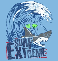 Surf extreme vector