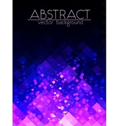 Bright purple grid abstract vertical background vector image vector image
